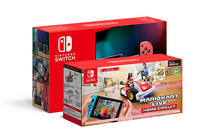 Wir verlosen eine Nintendo Switch und das brandneue Nnintendo Switch Mario Kart Live: Home Circuit!