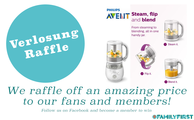 Verlosung / Raffle - Avent 4-in-1 Baby Food Maker