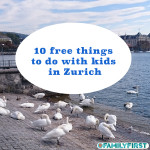 Free activities for kids in Zurich