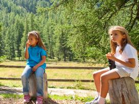 Bever Märchenpfad im Engadin BEVER FAIRY-TALE TRAIL on Family First