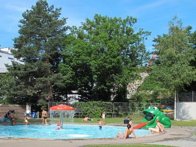 Flussbad Unterer Letten Zürich für Kinder