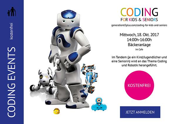 Coding for Kids & Seniors