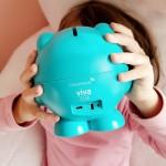 Digipigi ist eine kleine Spielzeug-ähnliche digitale Spardose