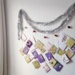 Basteln für Kinder - Last Minute Adventskalender basteln
