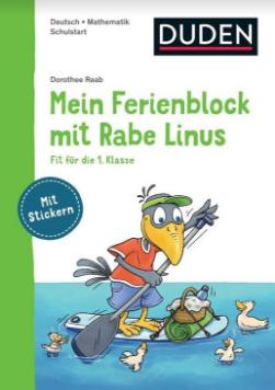Mein Ferienblock mit Rabe Linus - Dudenverlag