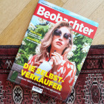 Elena Habicher Influencer in Beobachter Magazine