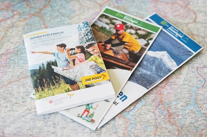 Diemtigen hiking with Swiss Post