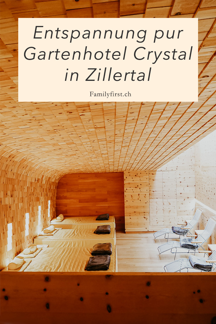 Pure relaxation: Gartenhotel Crystal in Zillertal
