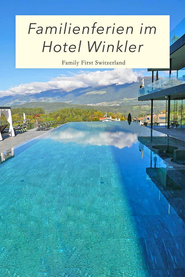 Familienferien beginnen im Hotel Winkler