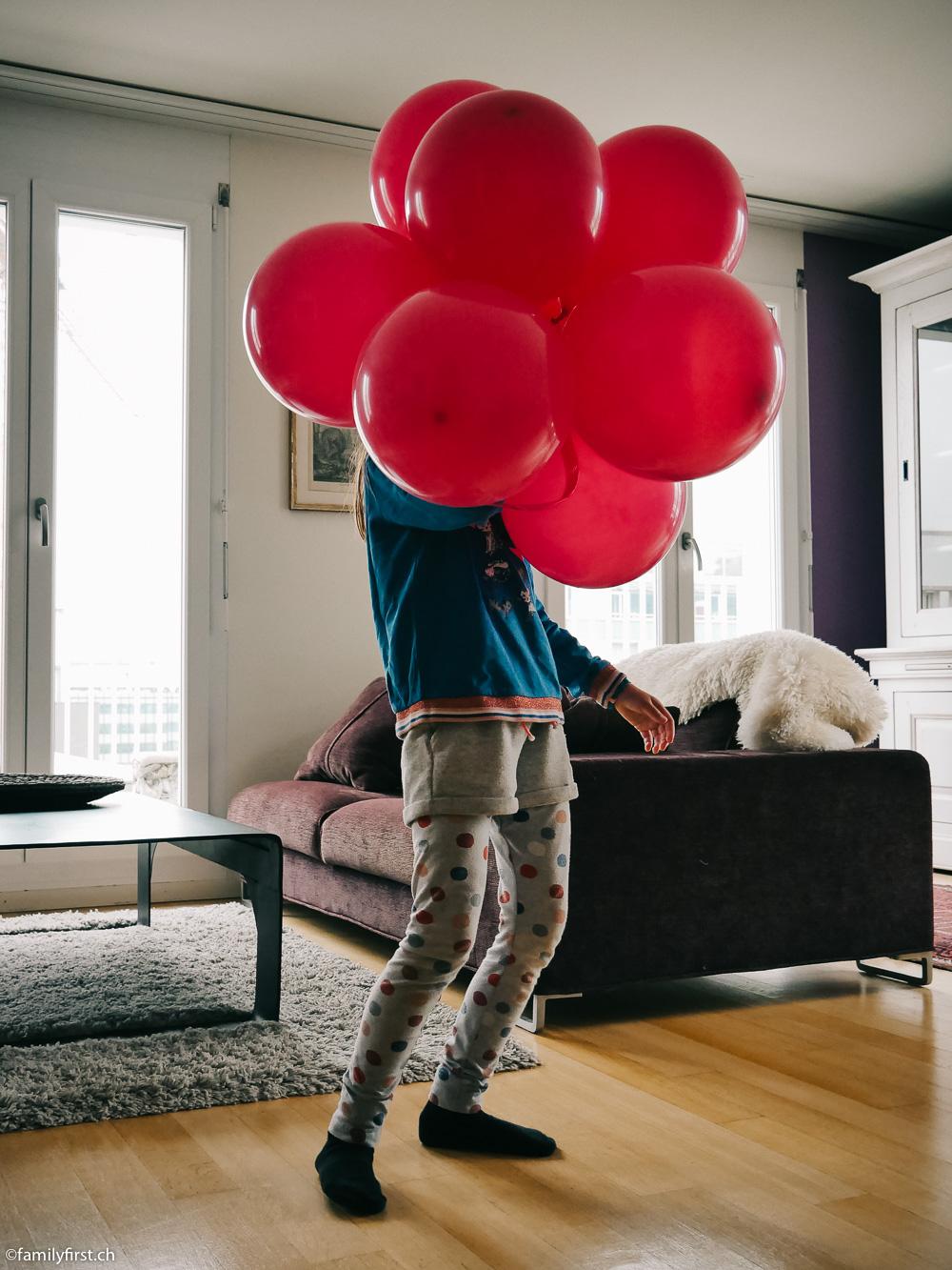 KindergeburtstagspartyLuftballon Thema