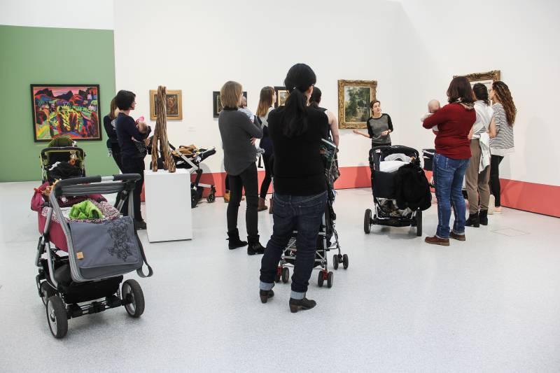 MIT DEM NUGGI INS MUSEUM: FÜHRUNG FÜR ELTERN MIT BABY