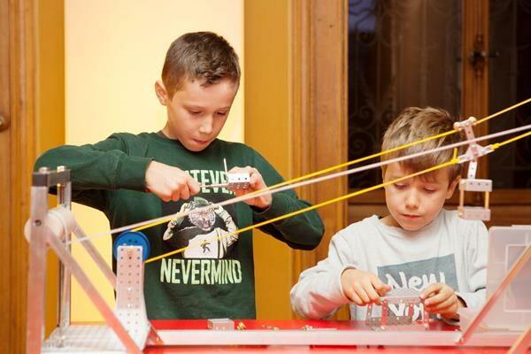 Offenes Atelier für Familien Wir bauen eine Seilbahn (Copy)