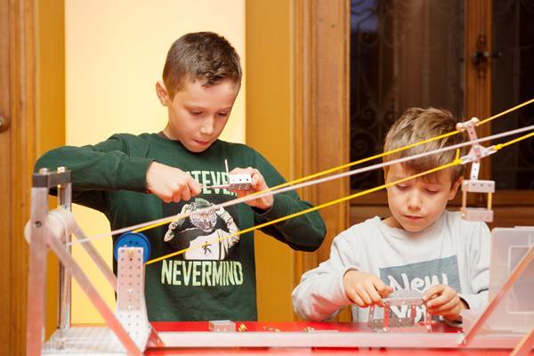 Offenes Atelier für Familien: Wir bauen eine Seilbahn
