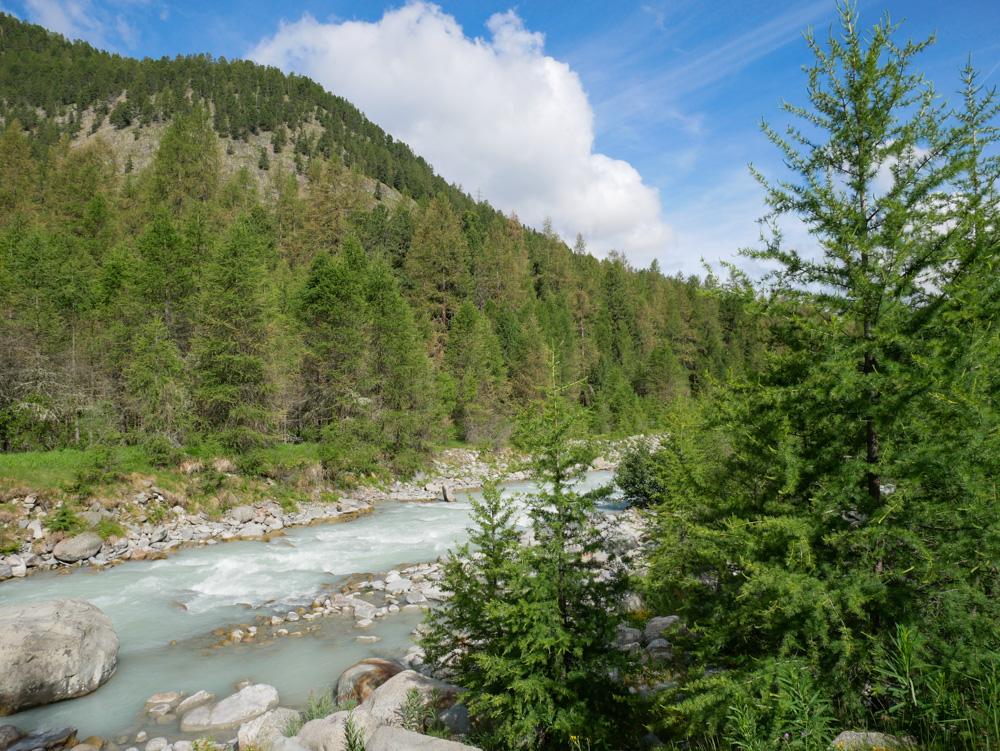 Familienausflug zu den Bernina Gletschern