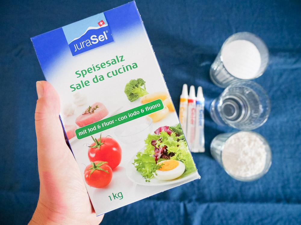 hausgemachte Knetmasse-Rezepte aus der Schweiz: Salz Knetmasse