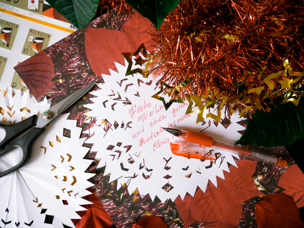 Individualisierte Weihnachtskarten.Wir Schreiben Unsere Weihnachtskarten Per Hand Family First Schweiz