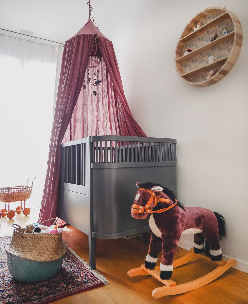 Baby room makeover with Sebra Interior