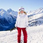 Skifahren min Goldwin und meine Favoriten auf der Piste in diesem Winter