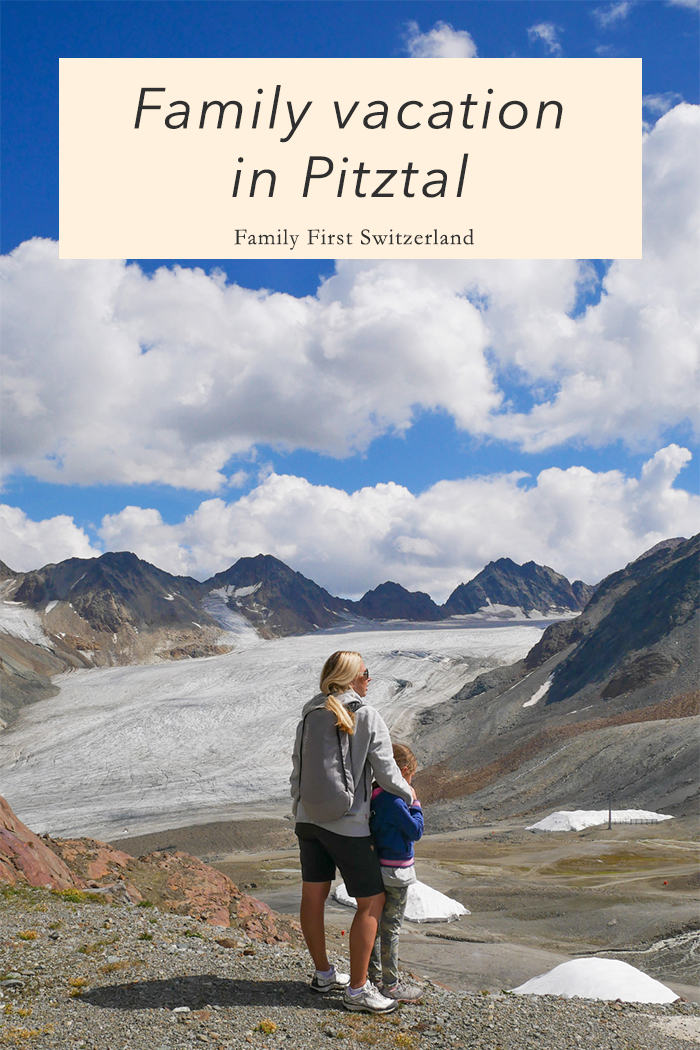Family vacation in Pitztal (Tyrol, Austria)
