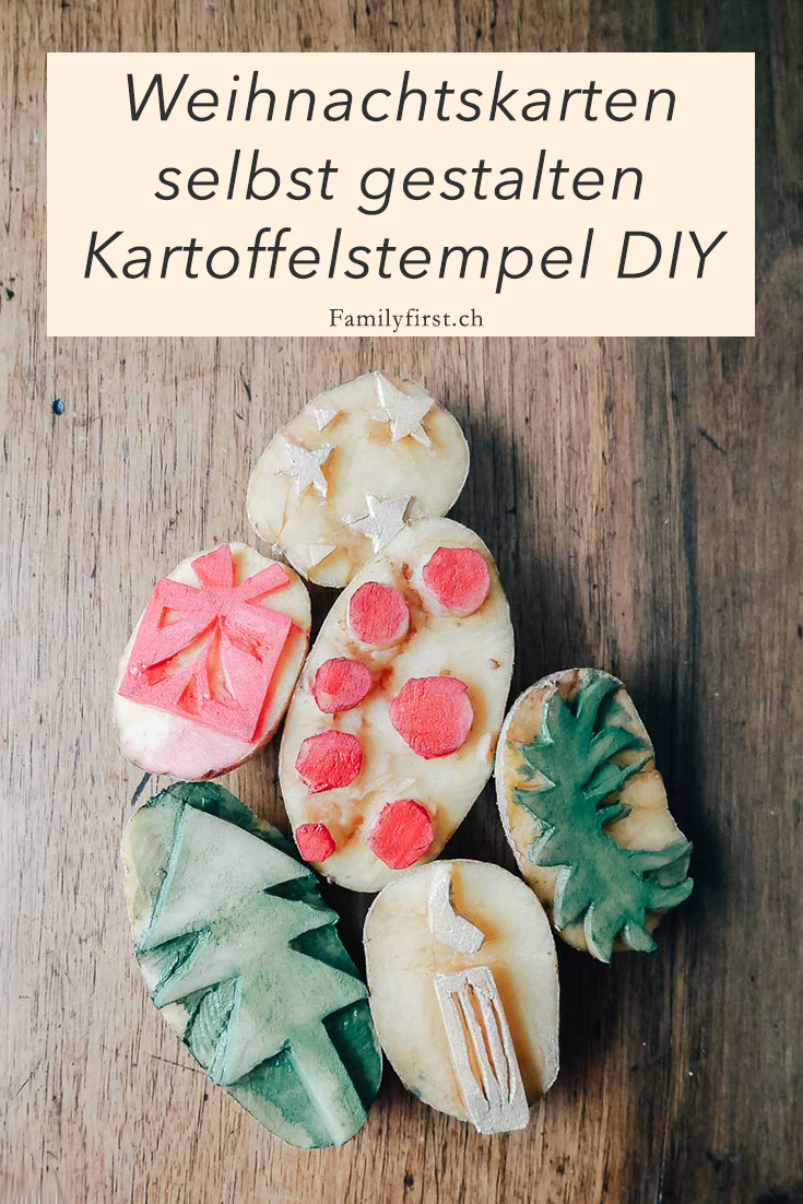 Pinterest-Weihnachtskarten-selbst-gestalten-Kartoffelstempel-DIY
