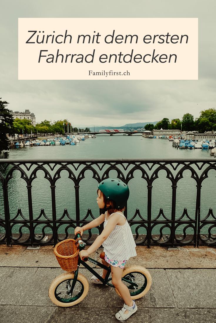 Zürich mit dem ersten Fahrrad entdecken