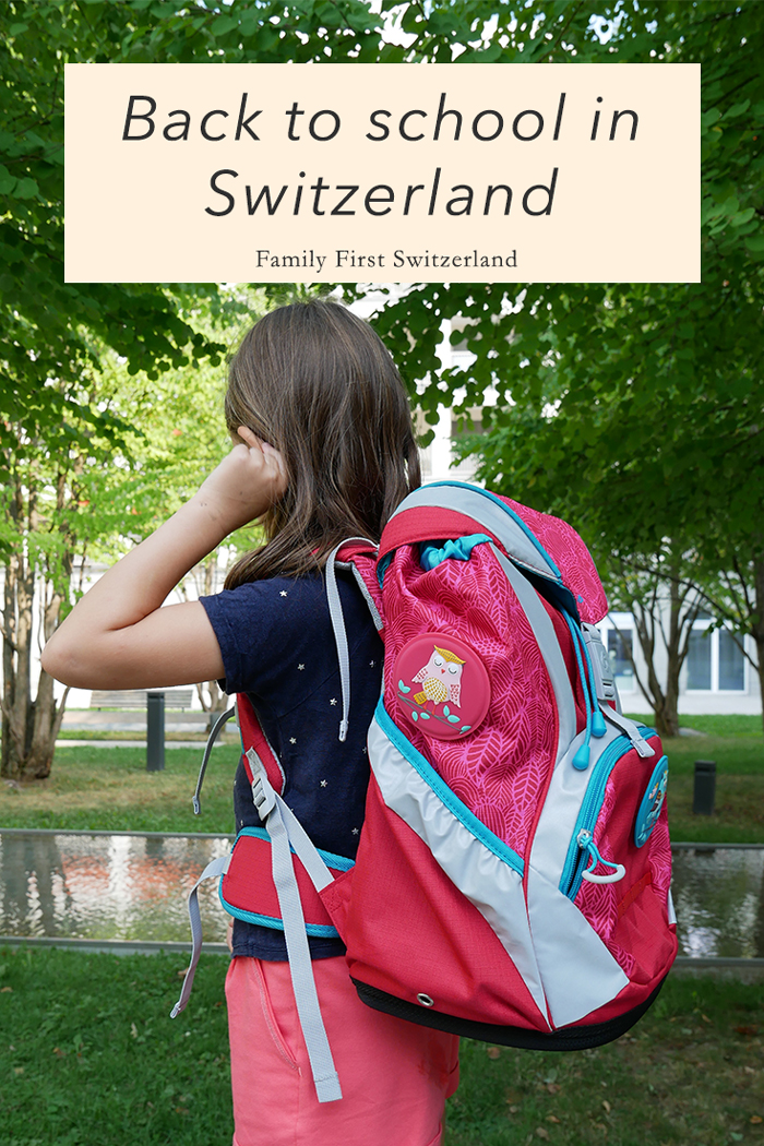 The back to school in Switzerland shopping list
