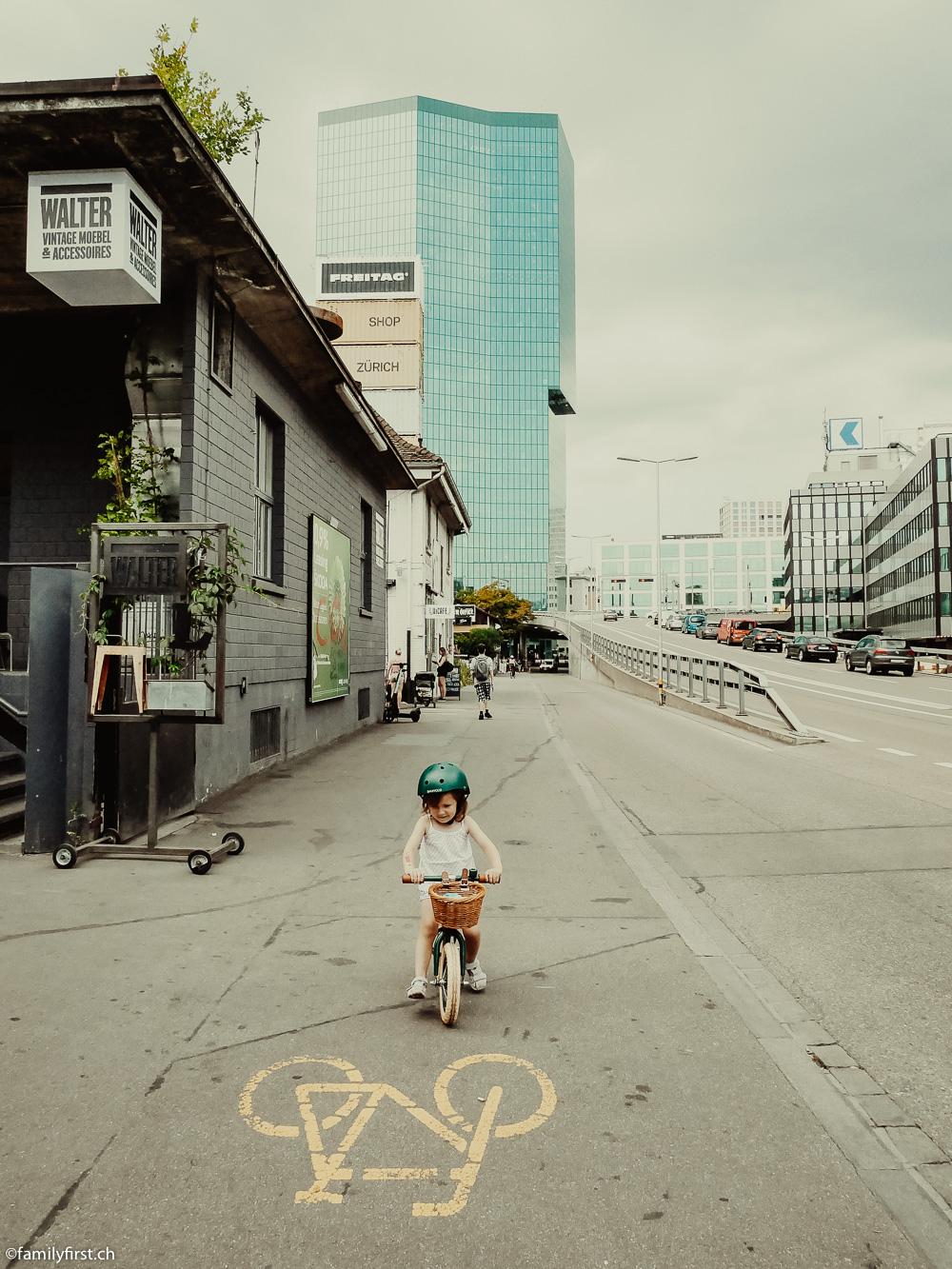 Zürich bei Bike