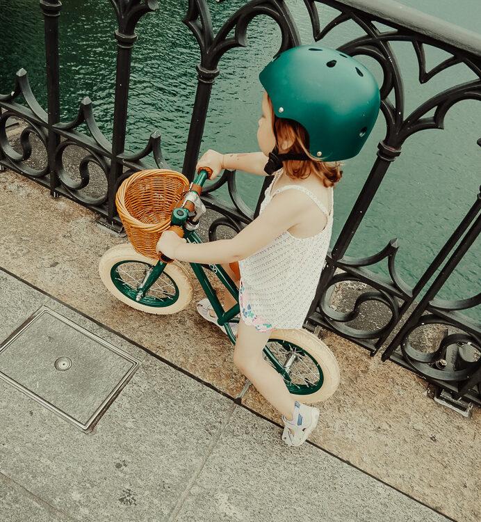 Zurich bei Bike mit Banwood für Kinder