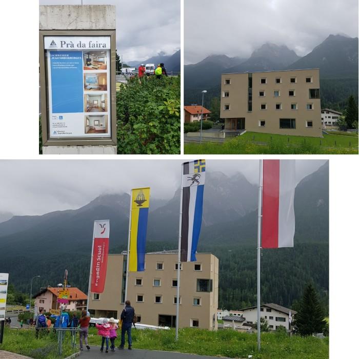 Schweizer Jugendherberge in Scuol
