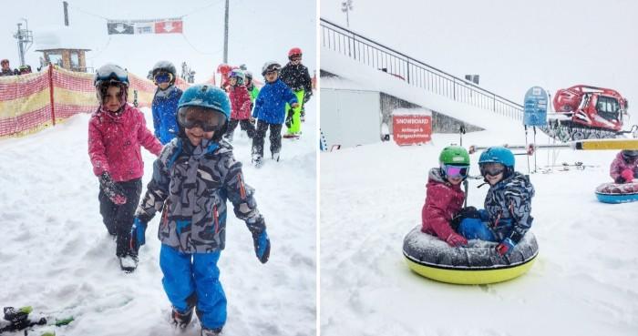 Perfekte Skigebiet für Kinder Kappl