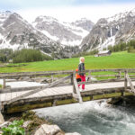 Familienwanderung im Sertigtal Davos