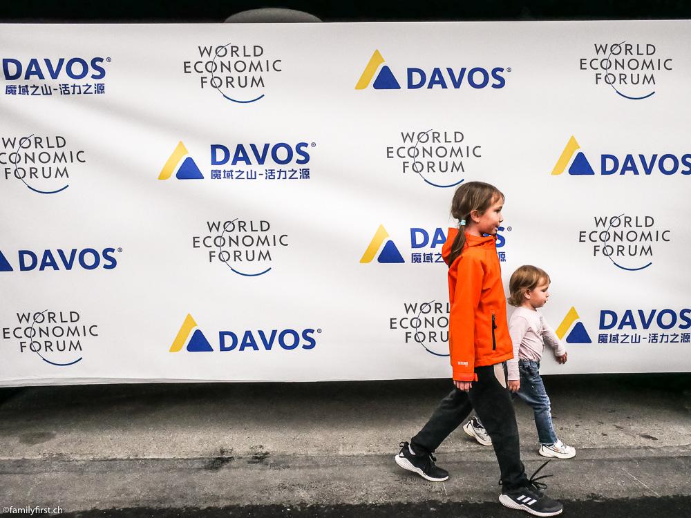 Mit der Familie in Davos-Klosters