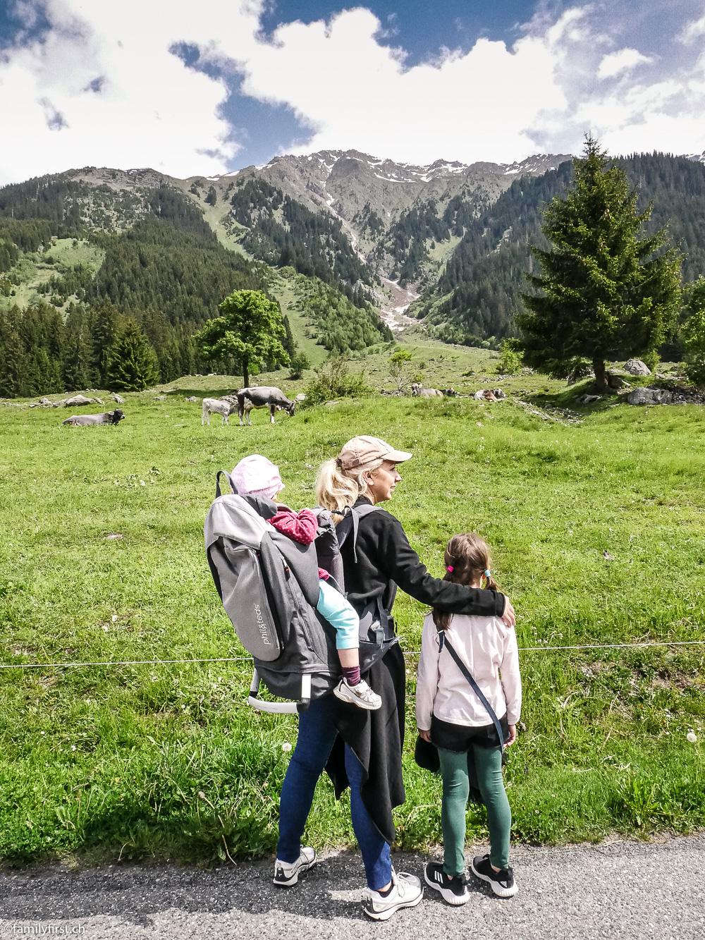 Unseren letzten Tag verbrachten wir in Klosters, einem typischen Bergdorf, authentisch und sehr charmant.
