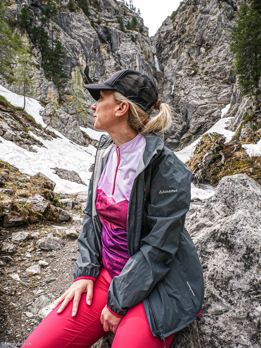 Wanderung im Sertigtal Davos, Schöffel