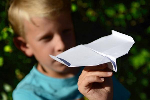 Papierflug-Wochenende