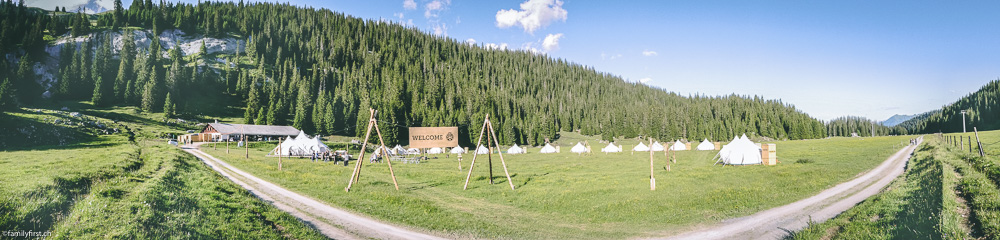 Glamping On Top Of Laax Flims Family First